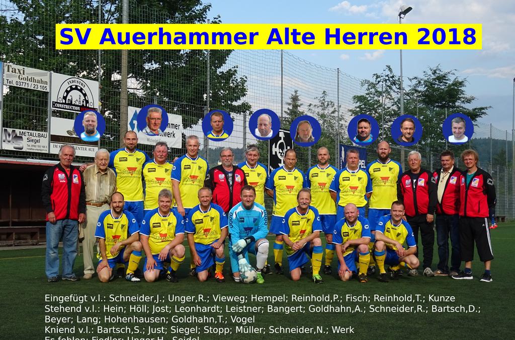 AH SV Auerhammer – AH Tanne Thalheim